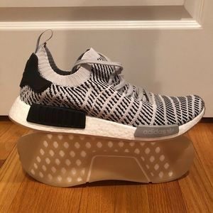 Adidas Nmd R1 STLT primeknit grey size 13 nwob